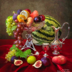 Jigsaw puzzle: Fruit still life