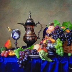 Jigsaw puzzle: Still life with fruit