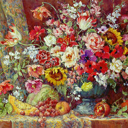 Jigsaw puzzle: Bright bouquet