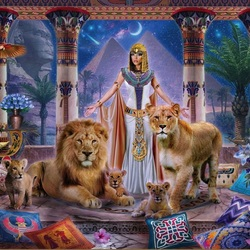 Jigsaw puzzle: Egyptian princess