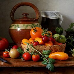 Jigsaw puzzle: Still life with vegetables