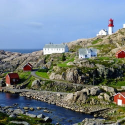 Jigsaw puzzle: Lindesnes lighthouse