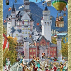 Jigsaw puzzle: Fairy tale affects