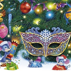 Jigsaw puzzle: Under the Christmas tree