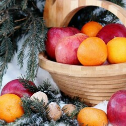 Jigsaw puzzle: Fruits for the holiday