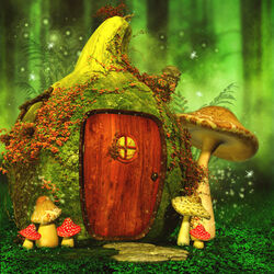 Jigsaw puzzle: Fairytale house