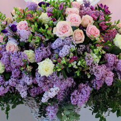 Jigsaw puzzle: Bouquet with lilac scent