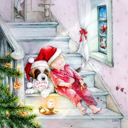 Jigsaw puzzle: We are waiting for Santa