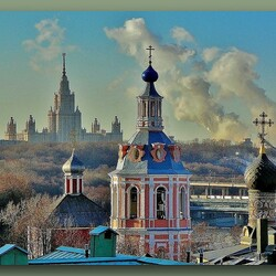 Jigsaw puzzle: Moscow sketches