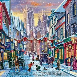Jigsaw puzzle: Christmas in York