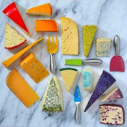 Jigsaw puzzle: Cheese rainbow