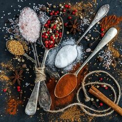 Jigsaw puzzle: Spices and condiments