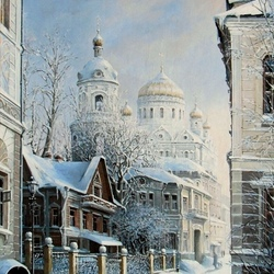 Jigsaw puzzle: Moscow Christmas