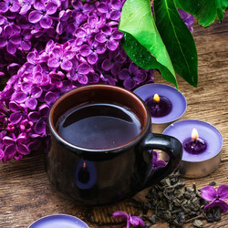 Jigsaw puzzle: May evening tea