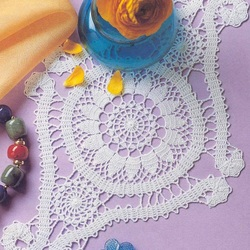 Jigsaw puzzle: Lace doily