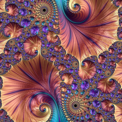 Jigsaw puzzle: Fractal