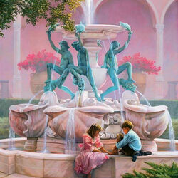Jigsaw puzzle: The fountain