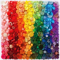 Jigsaw puzzle: Button rainbow