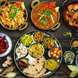 Jigsaw puzzle: Indian food
