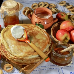 Jigsaw puzzle: Happy Shrovetide!