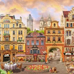 Jigsaw puzzle: Town Square