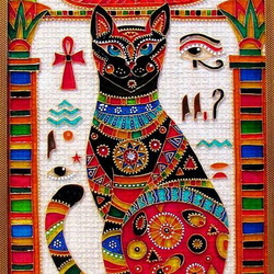 Jigsaw puzzle: Cat for pharaoh