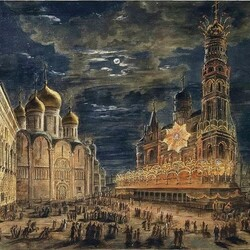 Jigsaw puzzle: Pre-fire Moscow in the 1800s