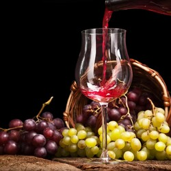 Jigsaw puzzle: Grape wine