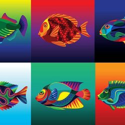 Jigsaw puzzle: Fishes