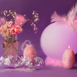 Jigsaw puzzle: Easter decor