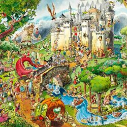 Jigsaw puzzle: Fairy tales