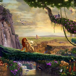 Jigsaw puzzle: The lion king