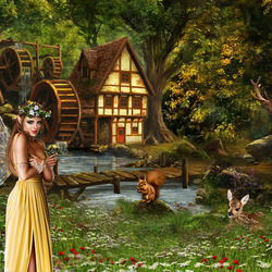 Jigsaw puzzle: Fairy forest