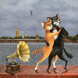 Jigsaw puzzle: Tango over the Neva
