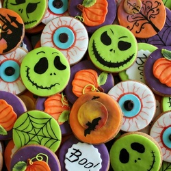 Jigsaw puzzle: Scary cookies