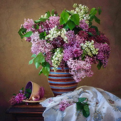 Jigsaw puzzle: Colorful lilac