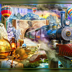 Jigsaw puzzle: Magic picture