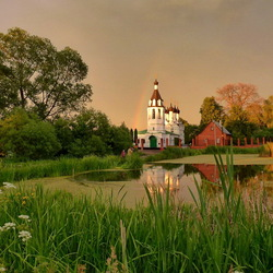 Jigsaw puzzle: Temples of the Moscow region