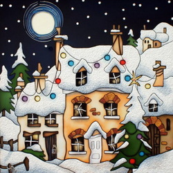 Jigsaw puzzle: Winter night