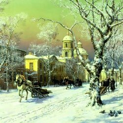 Jigsaw puzzle: Old Moscow