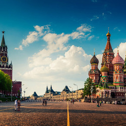 Jigsaw puzzle: Moscow