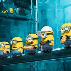 Jigsaw puzzle: Minions Dinner