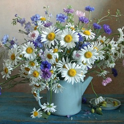 Jigsaw puzzle: Bouquet of wild flowers