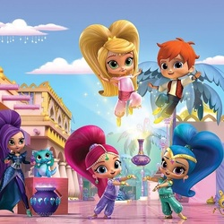 Jigsaw puzzle: Shimmer and Shine