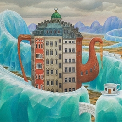 Jigsaw puzzle: Tea with ice