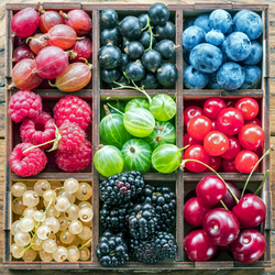 Jigsaw puzzle: Berries and fruits