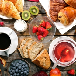 Jigsaw puzzle: Breakfast
