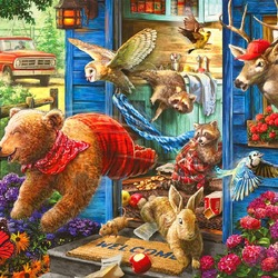 Jigsaw puzzle: Thieves