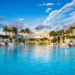 Jigsaw puzzle: Hotel in the Bahamas