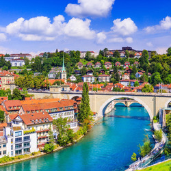 Jigsaw puzzle: Bridge in Switzerland